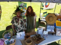 Bastyr Herb Faire- Eaglesong visiting my booth
