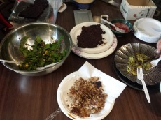 Lummi Tribe Youth Program- Traditional foods meal