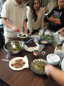 Lummi Tribe Youth Program- Wild foraged meal