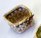 Tacomoa weavers guild rush basketry class