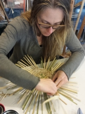 Twined weaving workshop