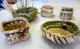 Tacoma Weavers Guild Rush basketry workshop
