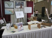 Homeschool Association conference booth and demo's