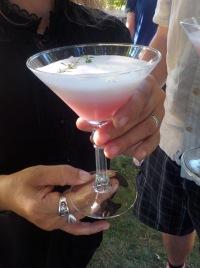 cocktail huckleberry fizz