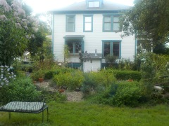 Herb garden house view 3