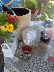 Huckleberry spritz station