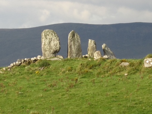 ring-of-kerry-standing-stone-line