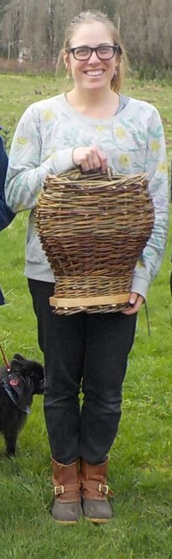 Willow pack basket Alex
