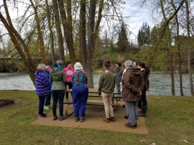 Learning from tribal elders along the river