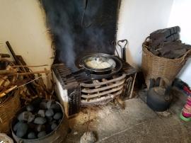 Mairead fireplace on Innisheer