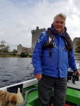 Boatman Dermot and Ross Castle