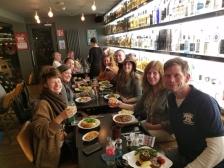 Last dinner out Celtic Whiskey & Larder