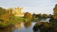 Trim Castle morning walk