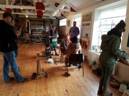 Leenane woolen mill museum activities - Copy