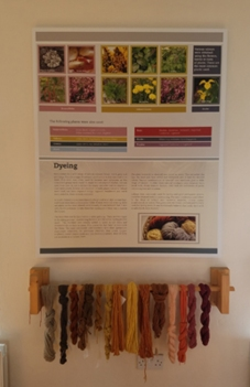Woolen mill natural dyes