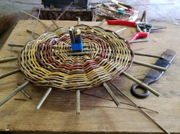 Weaving the base
