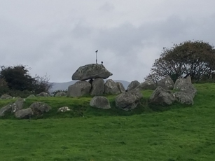 Carrowmore dolman and crows