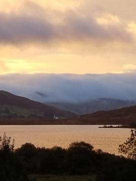 Lough Nafooey morning walk