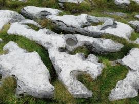 Burren rock formation