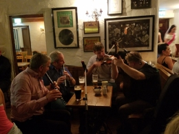 Doolin session at O' connors