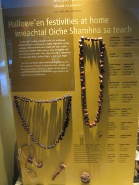 Folk museum Halloween necklaces etc
