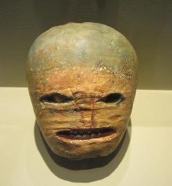 Folk museum turnip for halloween