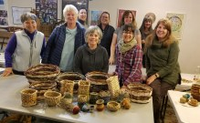 Basketry series group photo w me