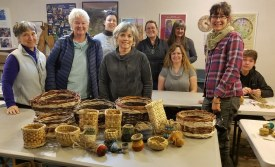 Basketry series group photo