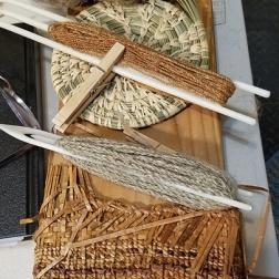 2 fiber cordage and cedar baskets web