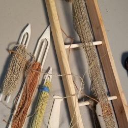 3 Loom and fibers web
