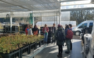 3 Oxbow greenhouse w van