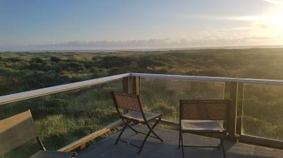 9 Copalis beach house deck view